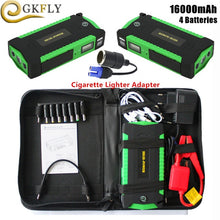 Load image into Gallery viewer, GKFLY High Capacity Car Jump Starter 600A Starting Device