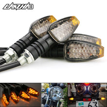 Load image into Gallery viewer, 4pcs/set Universal Motorcycle LED Turn Signals Indicator