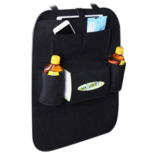 Load image into Gallery viewer, New Auto Car Seat Back Multi-Pocket Storage Bag Organizer Holder Accessory Black