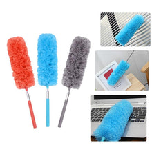 Load image into Gallery viewer, Adjustable Microfiber Dusting Brush Extend Stretch Feather