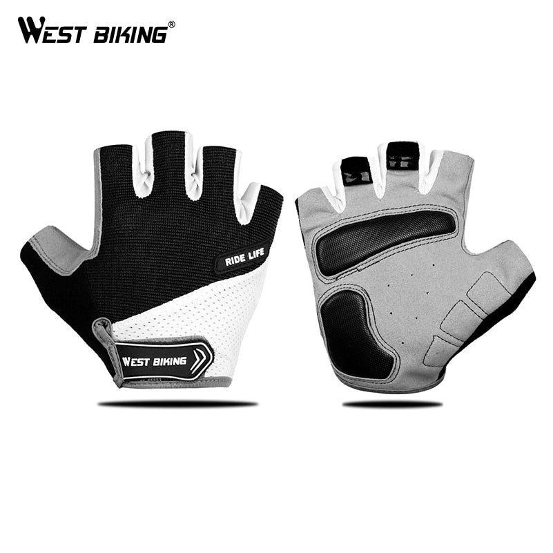 WEST BIKING Breathable Half Finger Cycling Gloves