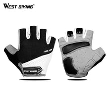 Load image into Gallery viewer, WEST BIKING Breathable Half Finger Cycling Gloves