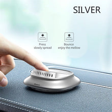 Load image into Gallery viewer, Baseus Alloy Car Air Freshener Perfume Fragrance Auto Aroma Diffuser Aromatherapy Solid Air Outlet Dashboard Perfume Holder
