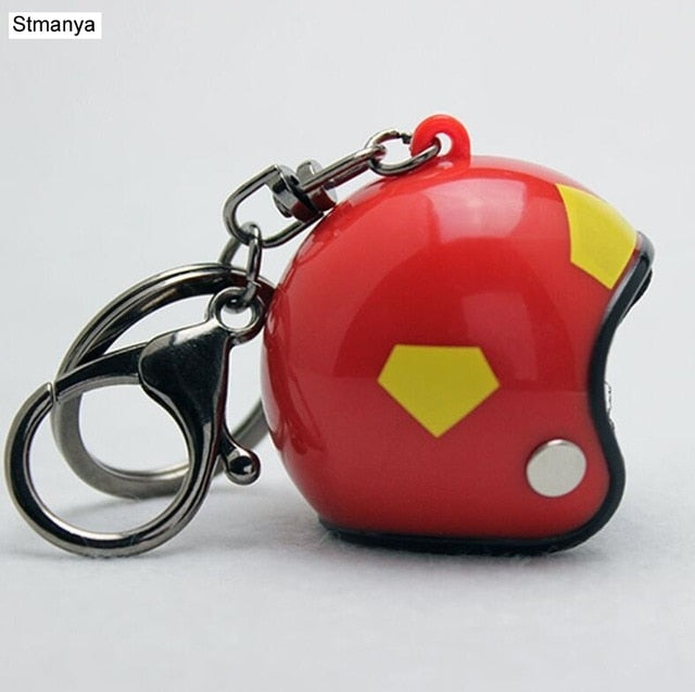 New Motorcycle Helmets Key chain