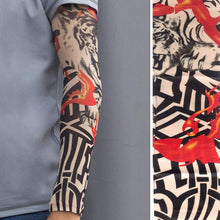 Load image into Gallery viewer, 1PC Breathable 3D Tattoo UV Protection Arm Sleeve
