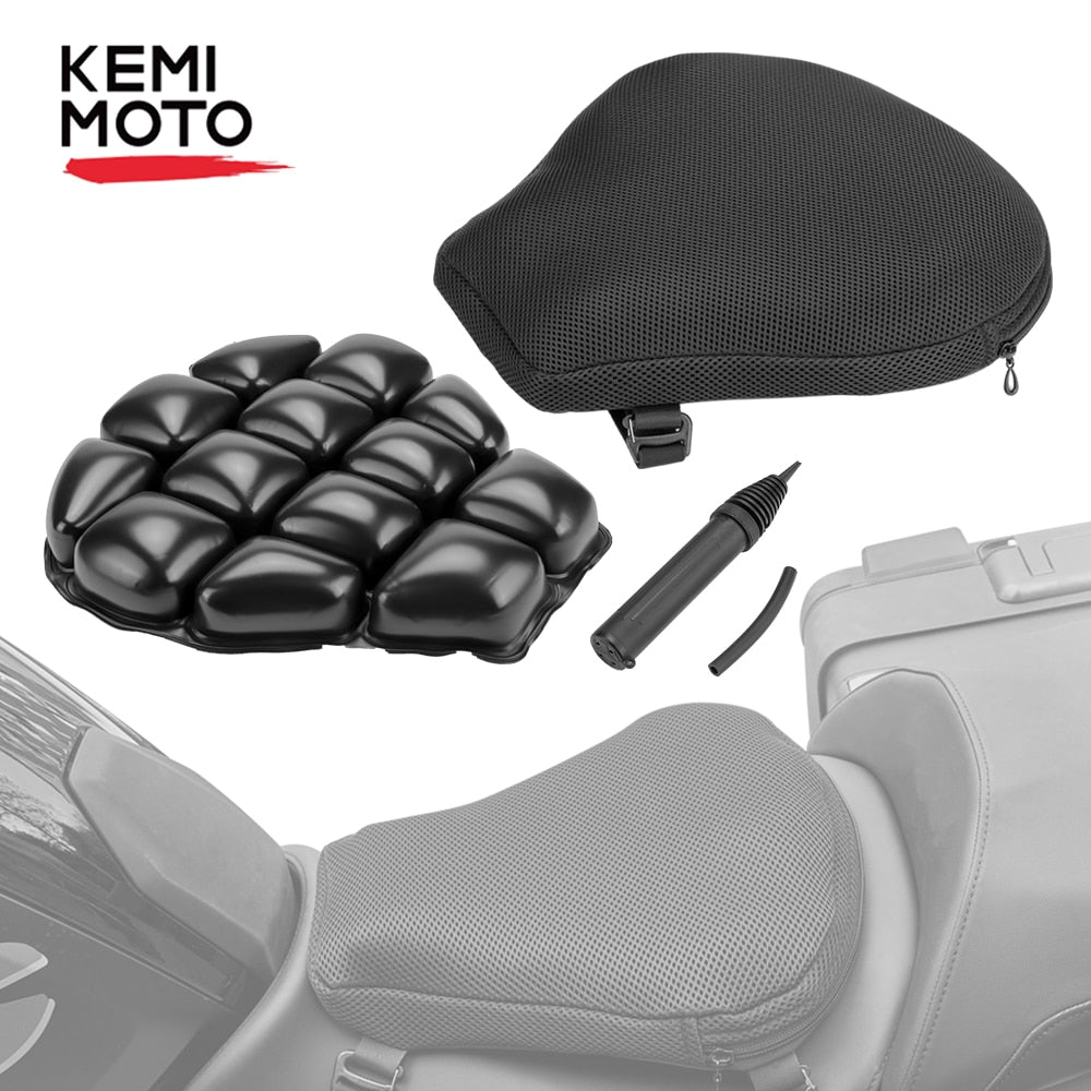 KEMiMOTO Air Pad Motorcycle Seat Cushion Cover
