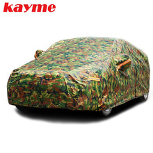 Load image into Gallery viewer, Kayme waterproof camouflage car covers outdoor sun protection
