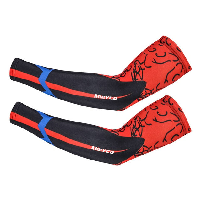 1 Pair Arm Sleeve UV Protection Outdoor Professional Bike Arm Warmers