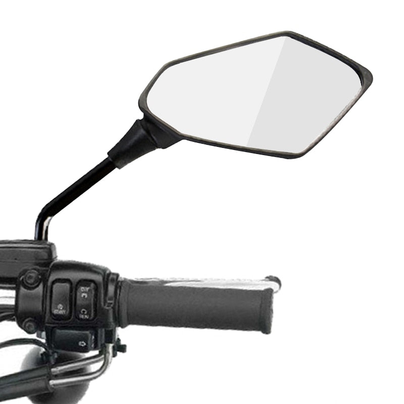 2Pcs/Pair Motorcycle Rearview Mirror Scooter E-Bike Rear View Mirrors