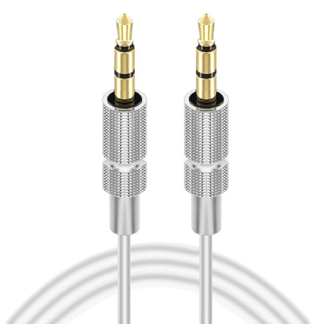 AUX Cable Jack 3.5mm Gold-plated stereo Audio Cable Jack
