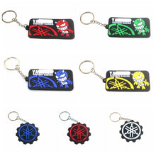 Load image into Gallery viewer, 3D Motorcycle Accessories Motorcycle KeyChain Rubber Motorcycle