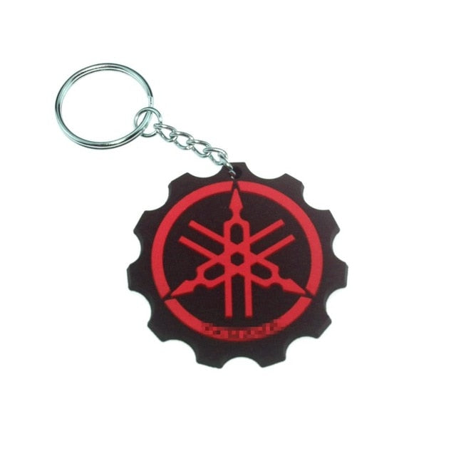 3D Motorcycle Accessories Motorcycle KeyChain Rubber Motorcycle