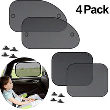 Load image into Gallery viewer, 4PCS Car Window Sun shade Cover Block For Kids