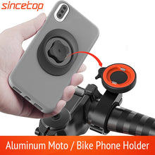 Load image into Gallery viewer, Universal Motorcycle Bike Mobile Phone Holder