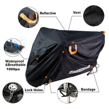 Load image into Gallery viewer, 210D High Quality Waterproof Outdoor Motorcycle Moto Cover