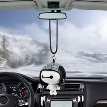 Load image into Gallery viewer, Cute Helmet Baymax Robot Doll Hanging Ornaments