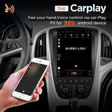 Load image into Gallery viewer, 4G RAM Vertical screen android 10.0 system car GPS multimedia video radio player in dash for opel ASTRA