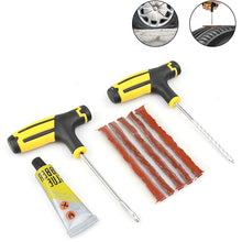 Load image into Gallery viewer, Car Tire Repair Kit  Tool Puncture Plug