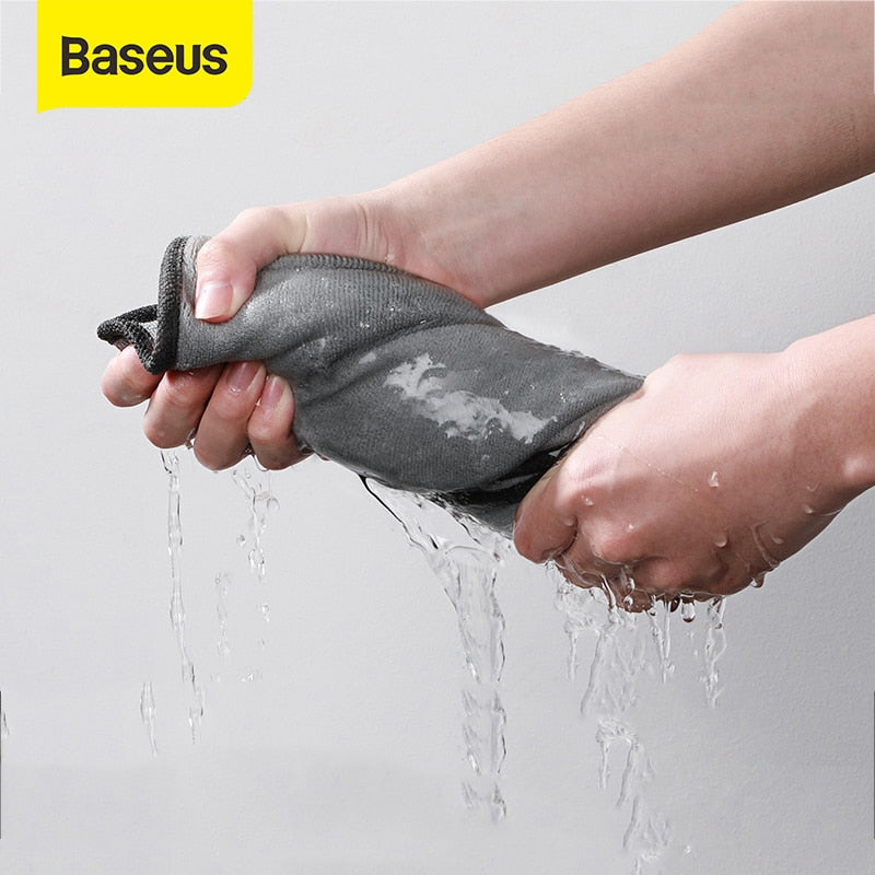 Baseus Car Wash Microfiber Towel Car and Motorcycle Polishing Care Cleaning Towels