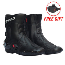 Load image into Gallery viewer, Motorcycle Boots Men Moto Racing Pro biker