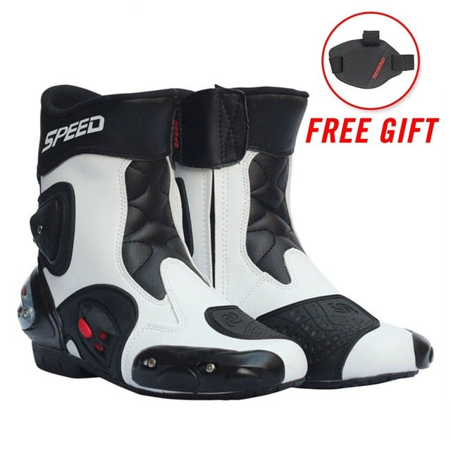 Motorcycle Boots Men Moto Racing Pro biker