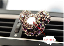 Load image into Gallery viewer, Luxury Car Logo perfume Diamond Air conditioner
