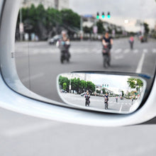 Load image into Gallery viewer, 2pcs 360 Degree Adjustable Glass Frameless Car Rearview Rear View Mirror