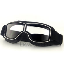 Load image into Gallery viewer, Safety Windproof Motorcycle Glasses Retro Motocross Goggles Eye Protection