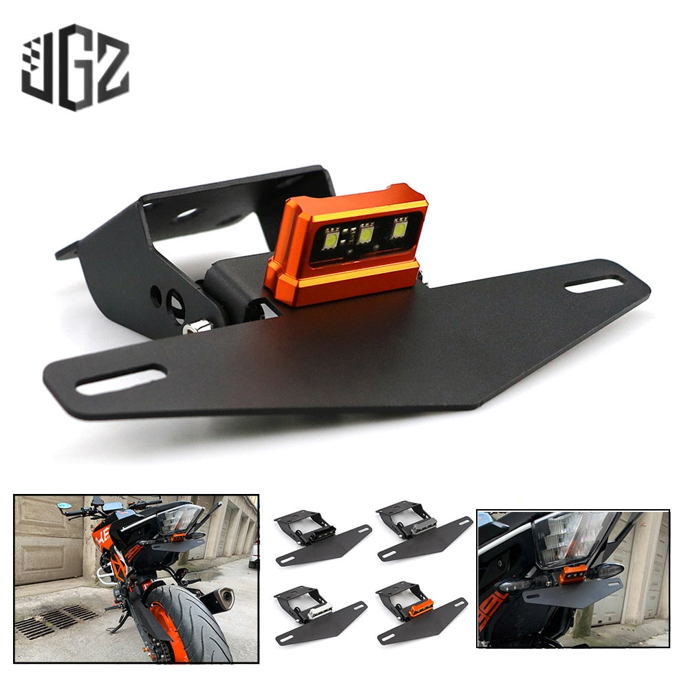 Motorcycle Rear License Plate Tail Frame Holder
