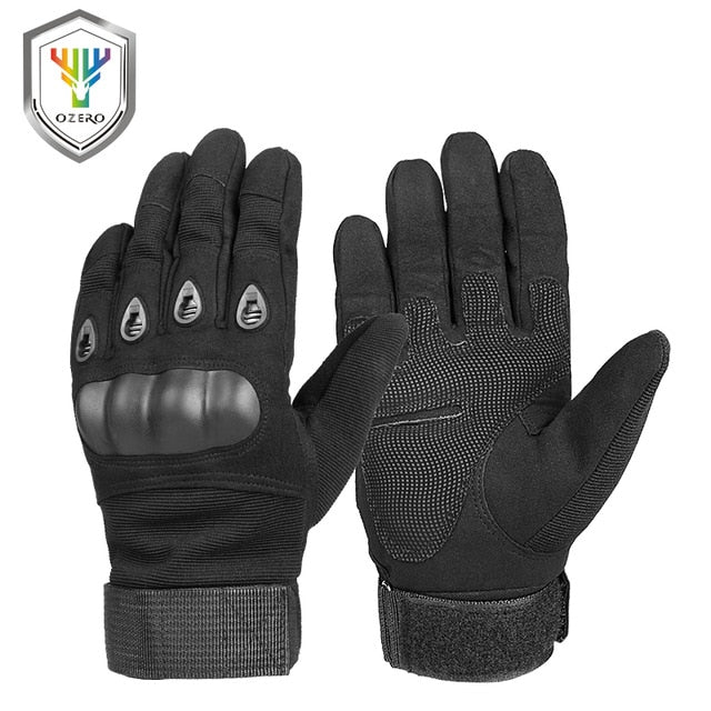 OZERO Motorcycle Gloves Super Fiber Reinforced Leather Motocross
