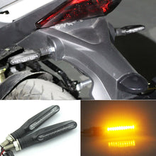 Load image into Gallery viewer, 4PCS Universal LED Motorcycle Turn Signal Indicator