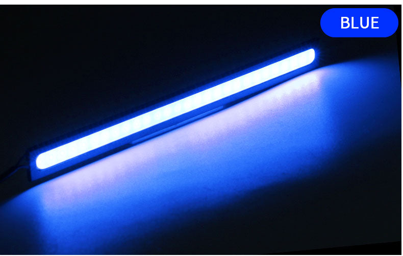 Motorcycle tail strip 12V DRL auto daytime running lights white colors