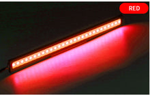 Load image into Gallery viewer, Motorcycle tail strip 12V DRL auto daytime running lights white colors