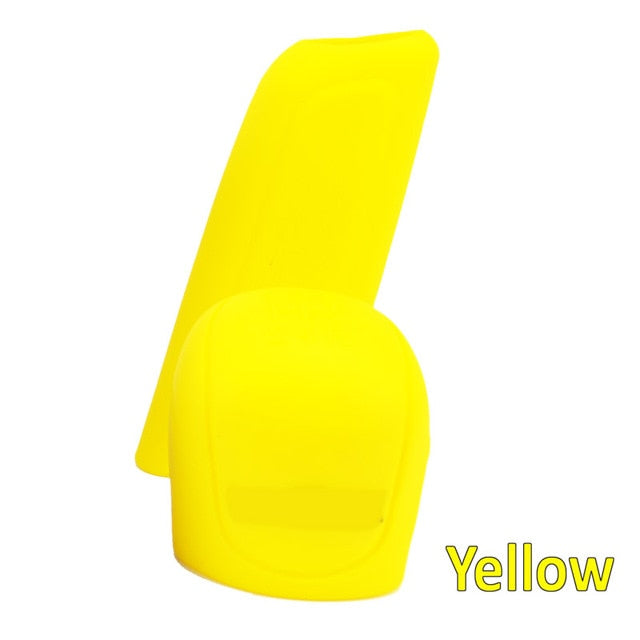 2Pc Car Auto Manual Silicone Shift Gear Head Knob Cover