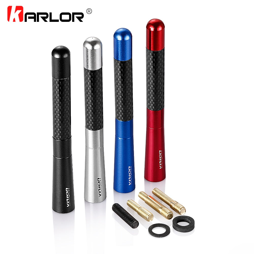 12cm Carbon Fiber Short Radio Antenna