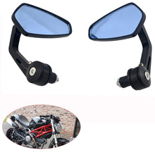 Load image into Gallery viewer, Motorcycle Bike Cruiser Chopper ATV Aluminum 7/8'' 22mm Bar End Side Rear View Mirror
