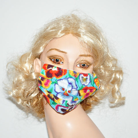 Floral Surgical Masks