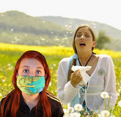 Pollen Allergy Surgical Mask Fashion