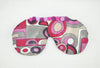 70`s Pattern Silk Sleeping Eye Mask