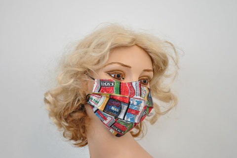 Beer Cans Mask