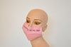 Cancer Patients mask, Surgical mask, mask with filter, pink, Women, Cancer awarness