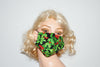Christmas Mistletoe Green Mask