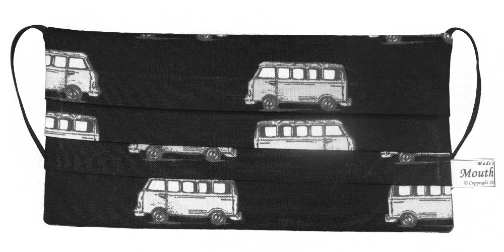 Buses Black Mask