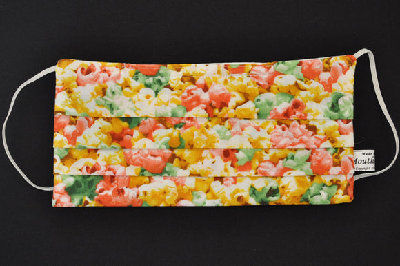 Colorful Popcorn Beige Mask