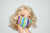 Colorful Stripes Mask