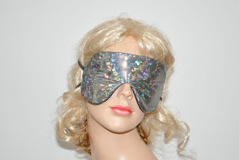 Glitter Reflections Grey Sleeping Eye Mask