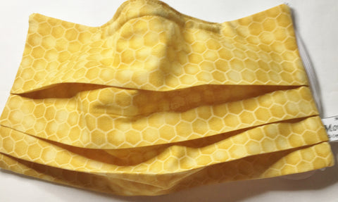 Honeycomb face mask / Bee lover