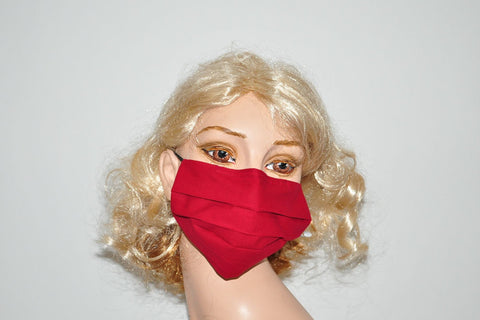Lipstick Red Mask, Red surgical face mask