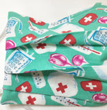 Red Cross / Nurse face mask / organic cotton / First Aid