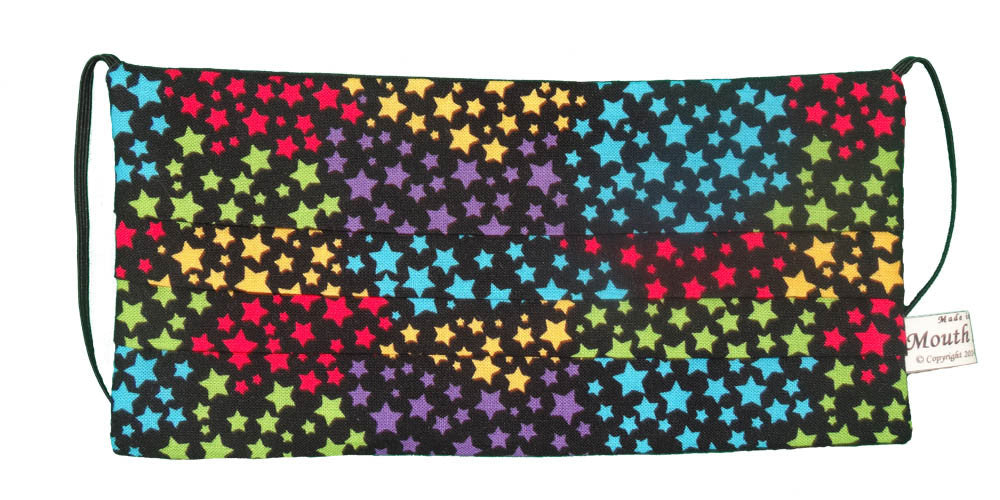 Rainbow Color Stars Mask